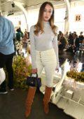 Alycia Debnam-Carey at Ulla Johnson show during New York Fashion Week