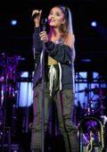 Ariana Grande performs at a concert for Charlottesville at University of Virginia's Scott Stadium, Virginia