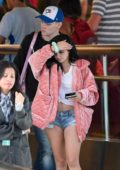 Ariel Winter catches a flight out of LAX, Los Angeles