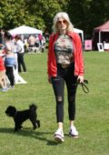 Ashely James attends the PupAid 2017 event in Primrose Hill in London