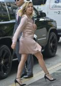 Ashley Benson arriving at Le Coucou french restaurant in New York City
