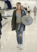 Bar Paly is seen leaving LAX Aiport in Los Angeles