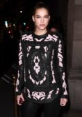Barbara Palvin at L'Oreal X Balmain party during Paris Fashion Week, France