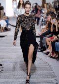 Bella Hadid on ramp for Michael Kor, spring summer 2018 during New York Fashion Week