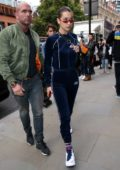Bella Hadid out with her brother Anwar Hadid in London