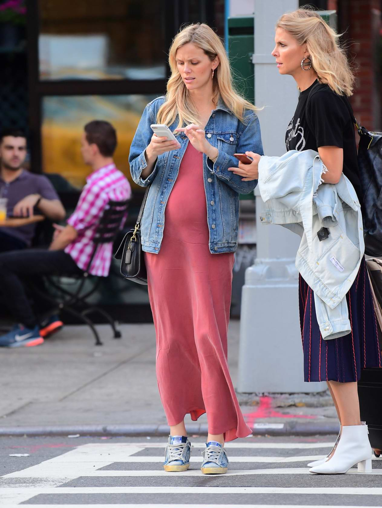 Brooklyn Decker was spotted for the first time since announcing her second pregnancy in New York City