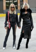 Caroline Vreeland and Shea Marie attends Jonathan Simkhai fashion show during New York Fashion Week