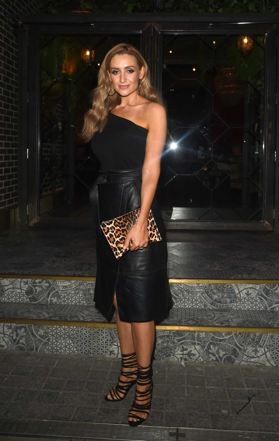 Catherine Tyldesley at her birthday party at Be Impossible in Manchester, UK