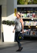 Charlize Theron leaving SoulCycle in Los Angeles