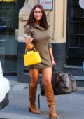Charlotte Dawson seen out and about in Manchester, UK