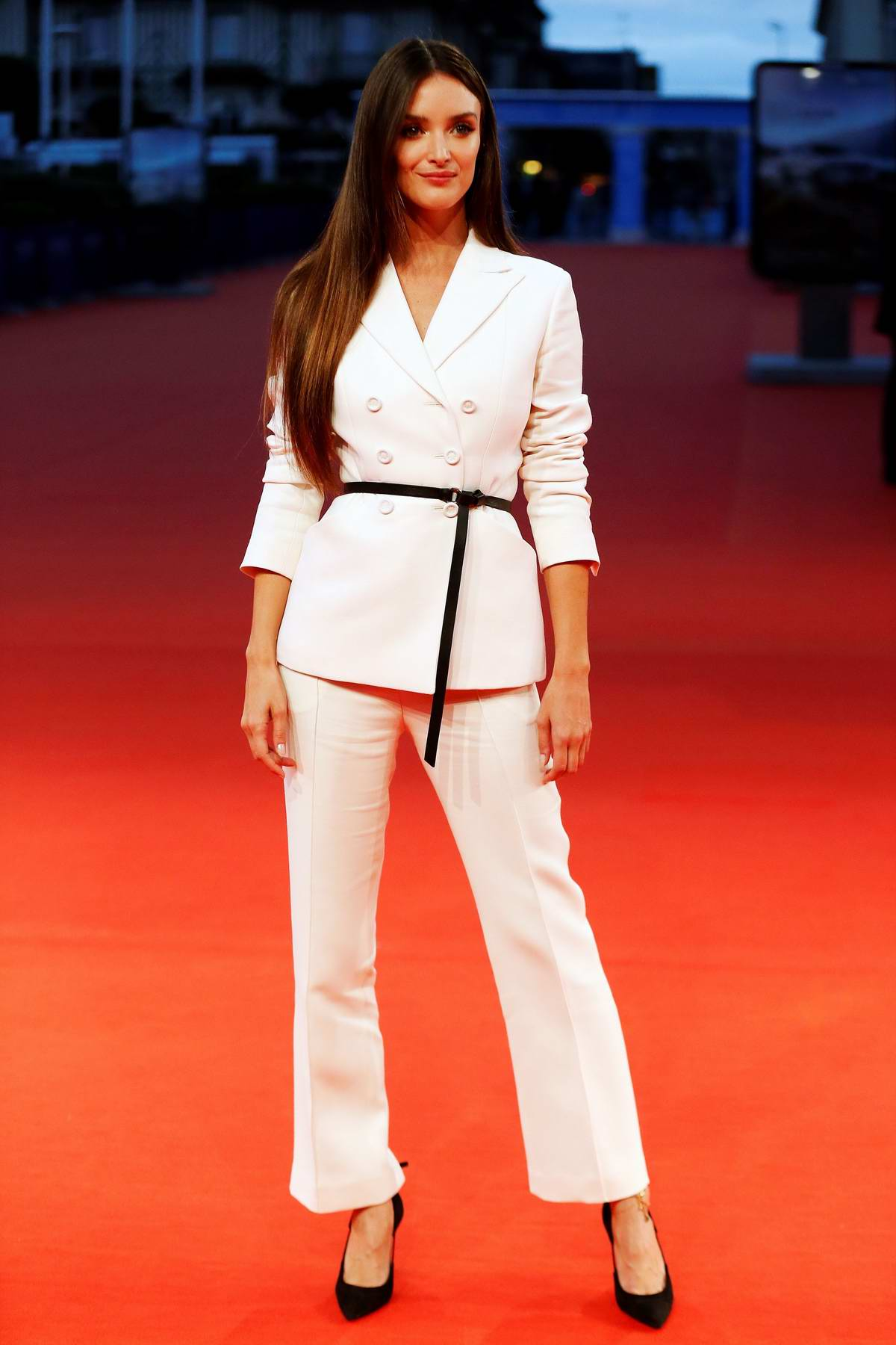 Charlotte Le Bon at 'The Promise' screening at 43rd Deauville American Film Festival in Deauville, France