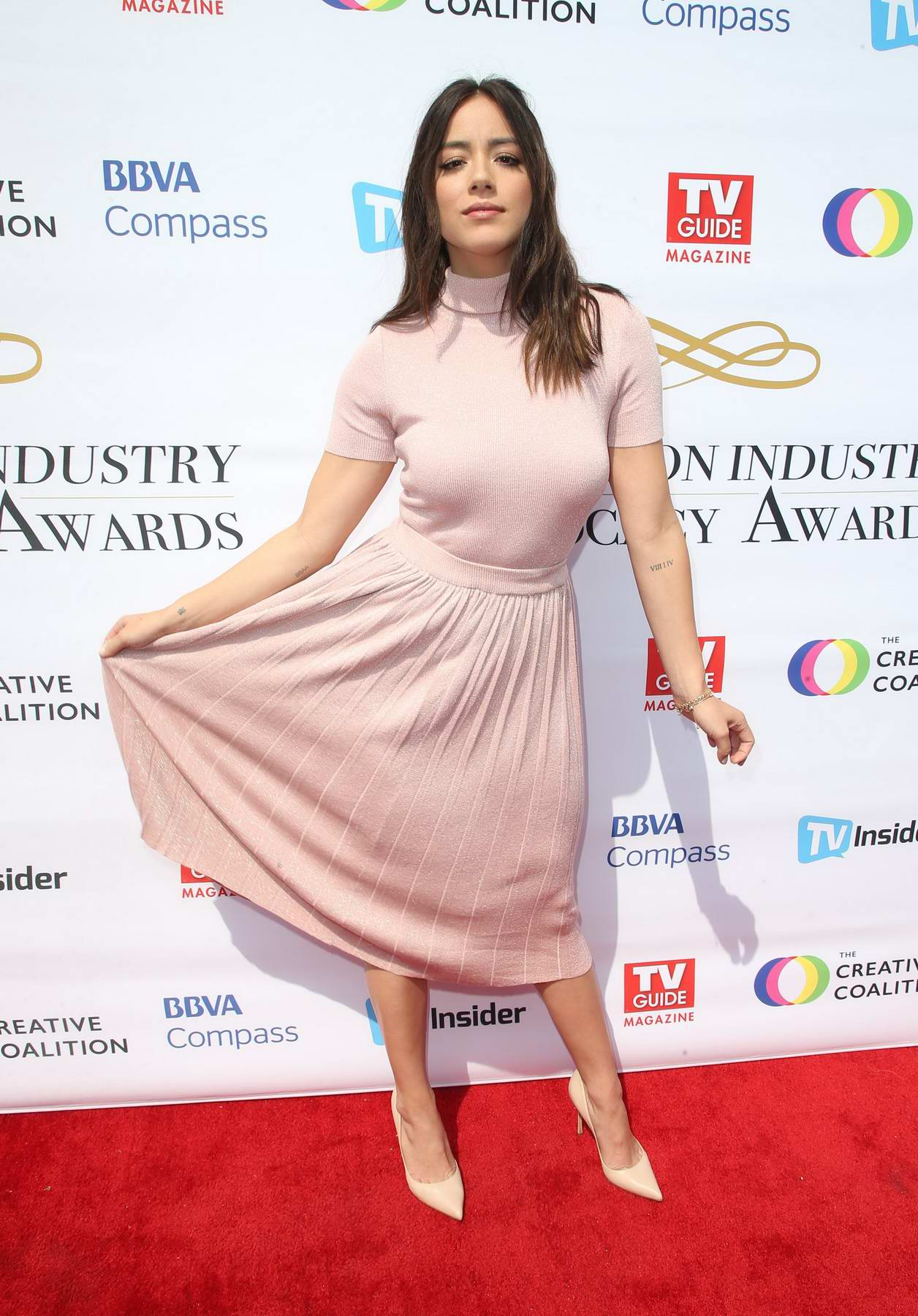 Chloe Bennet at Television Industry Advocacy Awards in Hollywood, Los Angeles