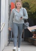 Chloe Grace Moretz leaving a hair salon in Los Angeles