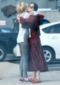 Dakota Johnson and mother Melanie Griffith catch up over coffee in West Hollywood, Los Angeles