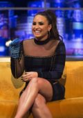 Demi Lovato visits Jonathan Ross Show in London