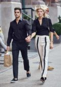 Devon Windsor and boyfriend Johnny Dex out on a lunch date in New York
