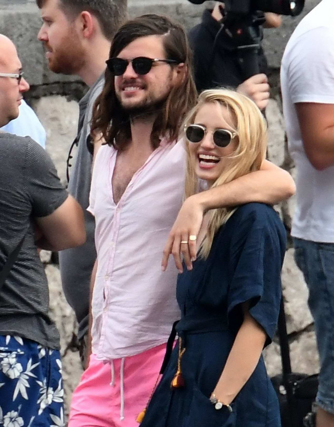 Dianna Agron Wedding.Dianna Agron And Husband Winston Marshall Arrived To Attend