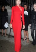 Doutzen Kroes attends Tom Ford Show during NYFW in New York City