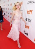 Elle Fanning at the Mary Shelley premiere during 2017 Toronto International Film Festival in Toronto, Canada