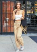 Emily Ratajkowski steps out of Bowery Hotel for a day out in New York City