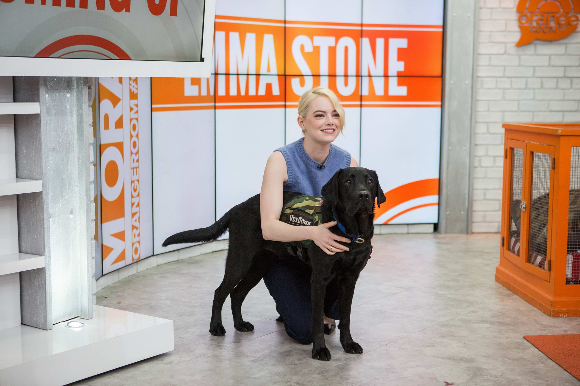 Emma Stone visits TODAY Show in New York