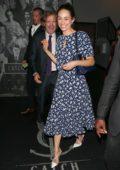 Emmy Rossum celebrate Emma Kenney's birthday at Catch LA in West Hollywood, Los Angeles