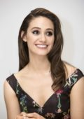 Emmy Rossum promotes her TV series Shameless in Hollywood, Los Angeles