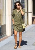 Eva Longoria stops by her favorite nail salon in Beverly Hills, Los Angeles