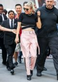 Fergie stops by Refinery 29 in New York