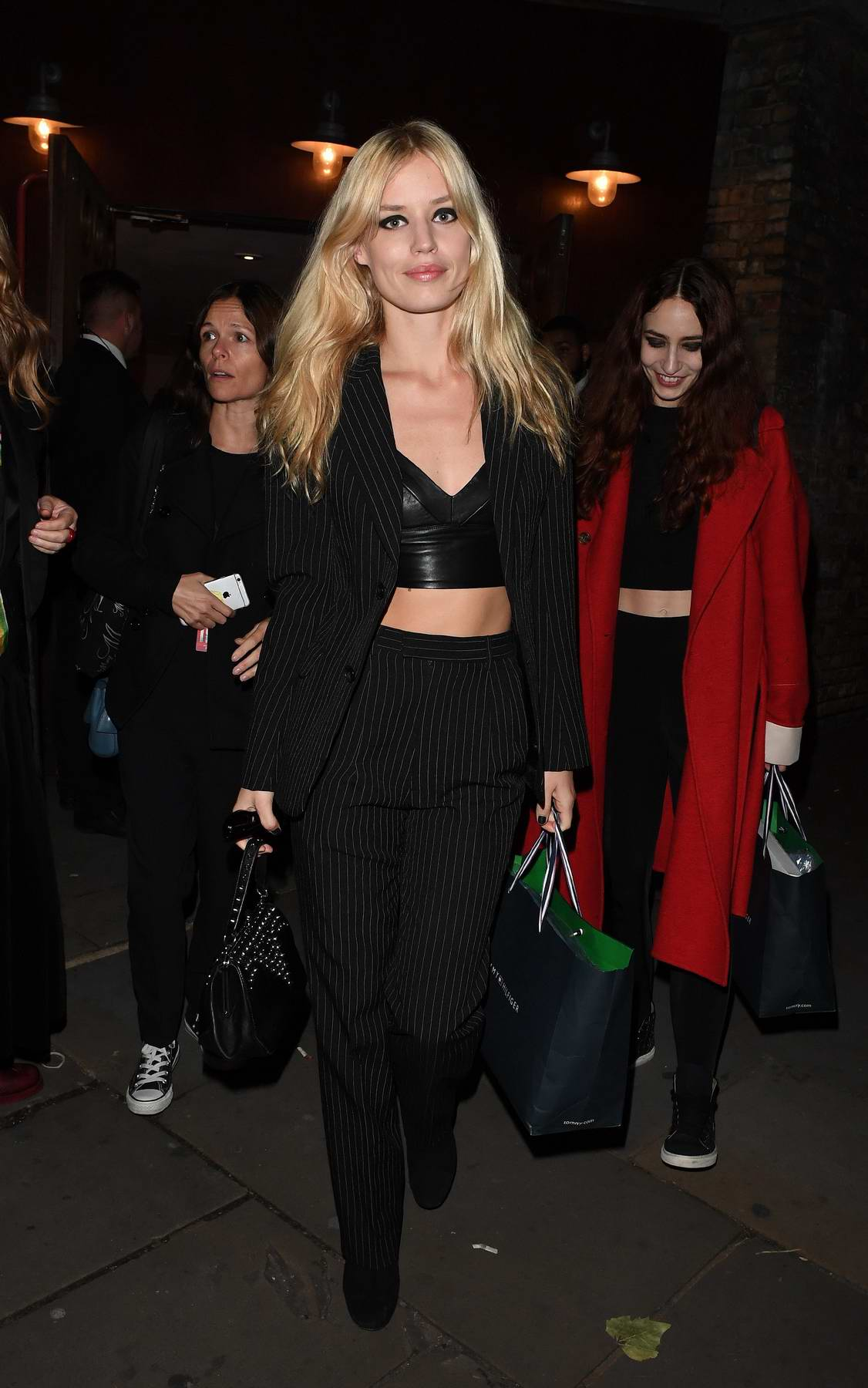 Georgia May Jagger leaving Camden Roundhouse following the Tommy Hilfiger Show during London Fashion Week