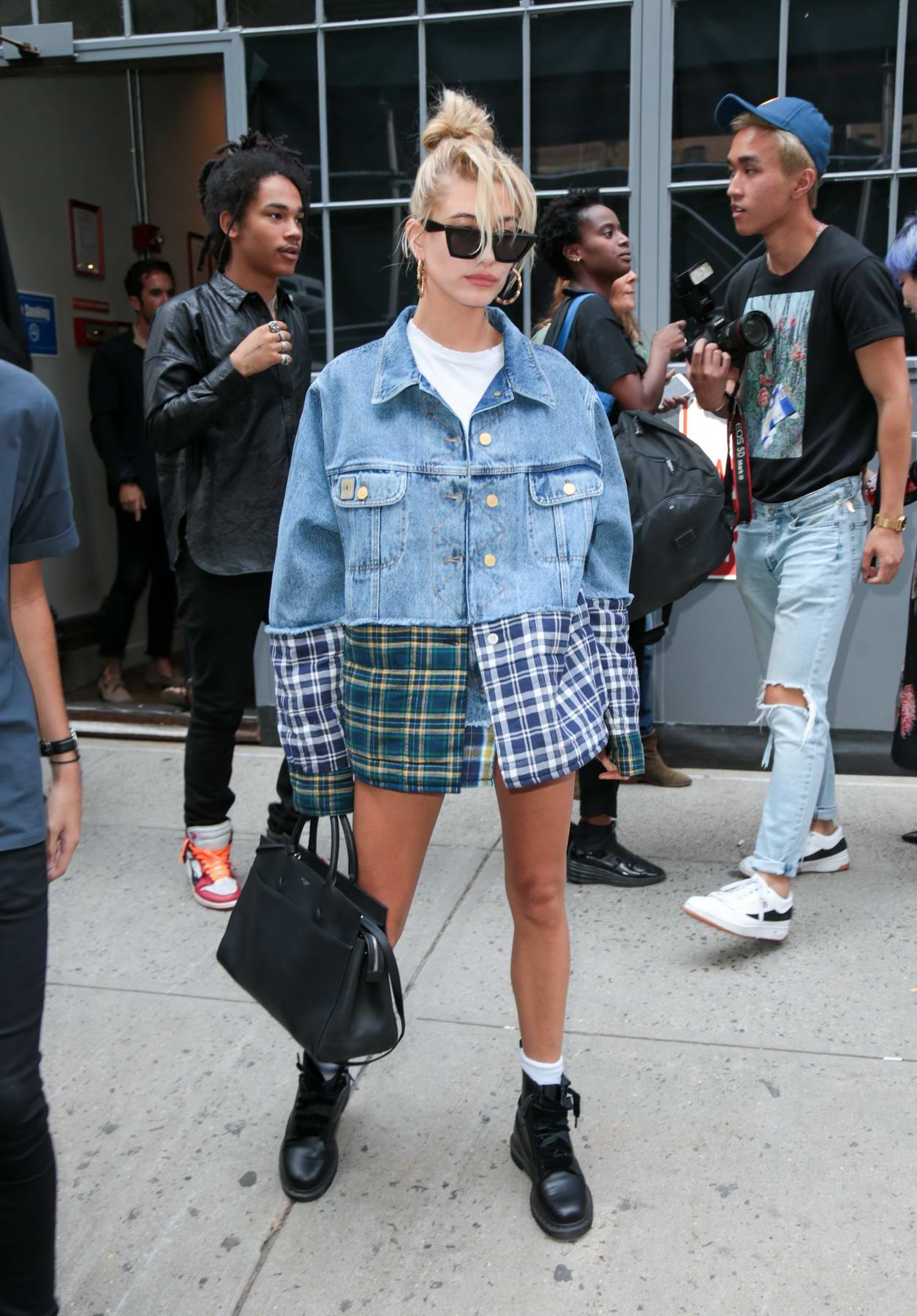 Hailey Baldwin spotted during fashion week in New York City