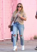 Hilary Duff out and about with her son in Los Angeles