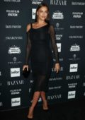 Irina Shayk at the Harper's Bazaar ICONS party at New York Fashion Week