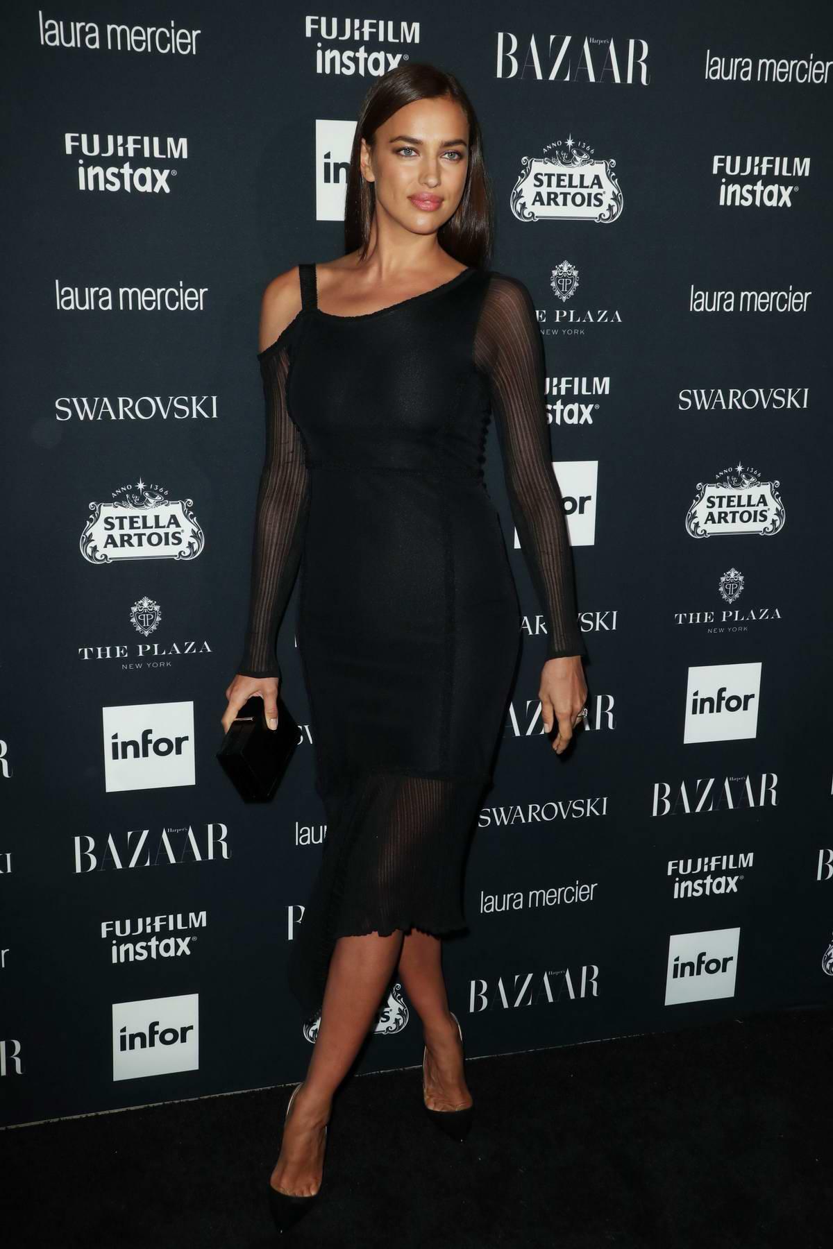 Irina Shayk at the Harper's Bazaar ICONS party at New York Fashion Week