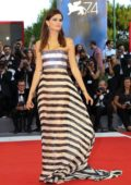 Isabeli Fontana at the 'Downsizing' premiere and opening ceremony at 74th Venice Film Festival in Venice, Italy