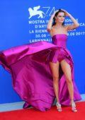 Isabeli Fontana at the Franca Sozzani Award at the Venice Film Festival in Italy