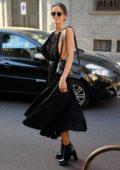 Izabel Goulart seen during Milan Fashion Week in Milan, Italy