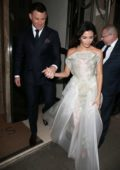 Jenna Dewan and Channing Tatum leaving their hotel in London