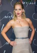 Jennifer Lawrence at 'Mother' movie premiere in Paris, France