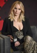 Jennifer Lawrence at the Mother! press conference during 2017 Toronto International Film Festival at TIFF Bell Lightbox, Canada