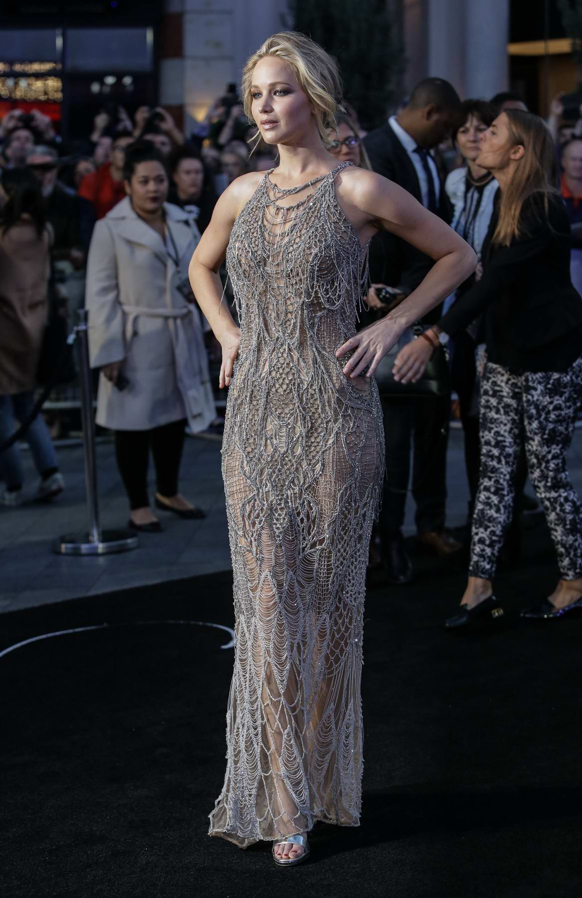 Jennifer Lawrence at the UK premiere of Mother in London