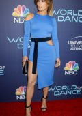 Jennifer Lopez attends the World of Dance celebration in West Hollywood, Los Angeles