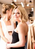Jennifer Morrison at Max Mara Boutique re-opening spring summer 2018 during New York Fashion Week