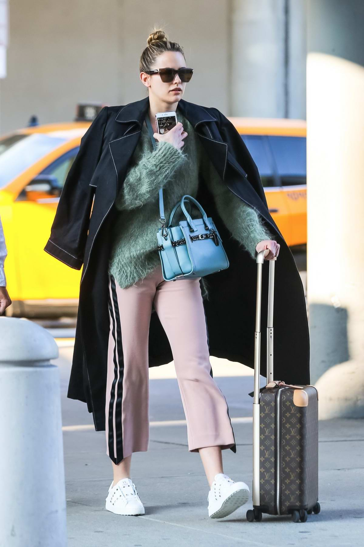 Jesinta Franklin lands in New York just in time for New York Fashion Week