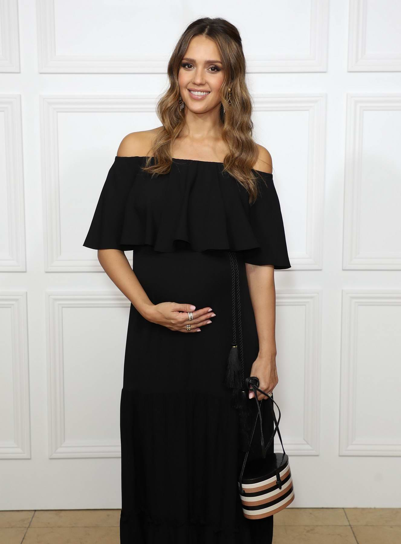 Jessica Alba attends Rachel Zoe SS18 presentation at Sunset Tower Hotel in Los Angeles
