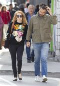 Jessica Chastain and husband Gian Luca Passi steps out on chilly September day in Montreal, Canada