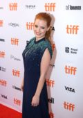 Jessica Chastain at the Molly's Game premiere during Toronto International Film Festival in Toronto, Canada