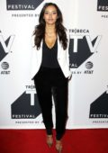Jessica Lucas attends Gotham TV show screening during Tribeca TV Festival in New York
