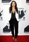 Jessica Lucas attends Gotham TV show screening during Tribeca TV Festival in New York