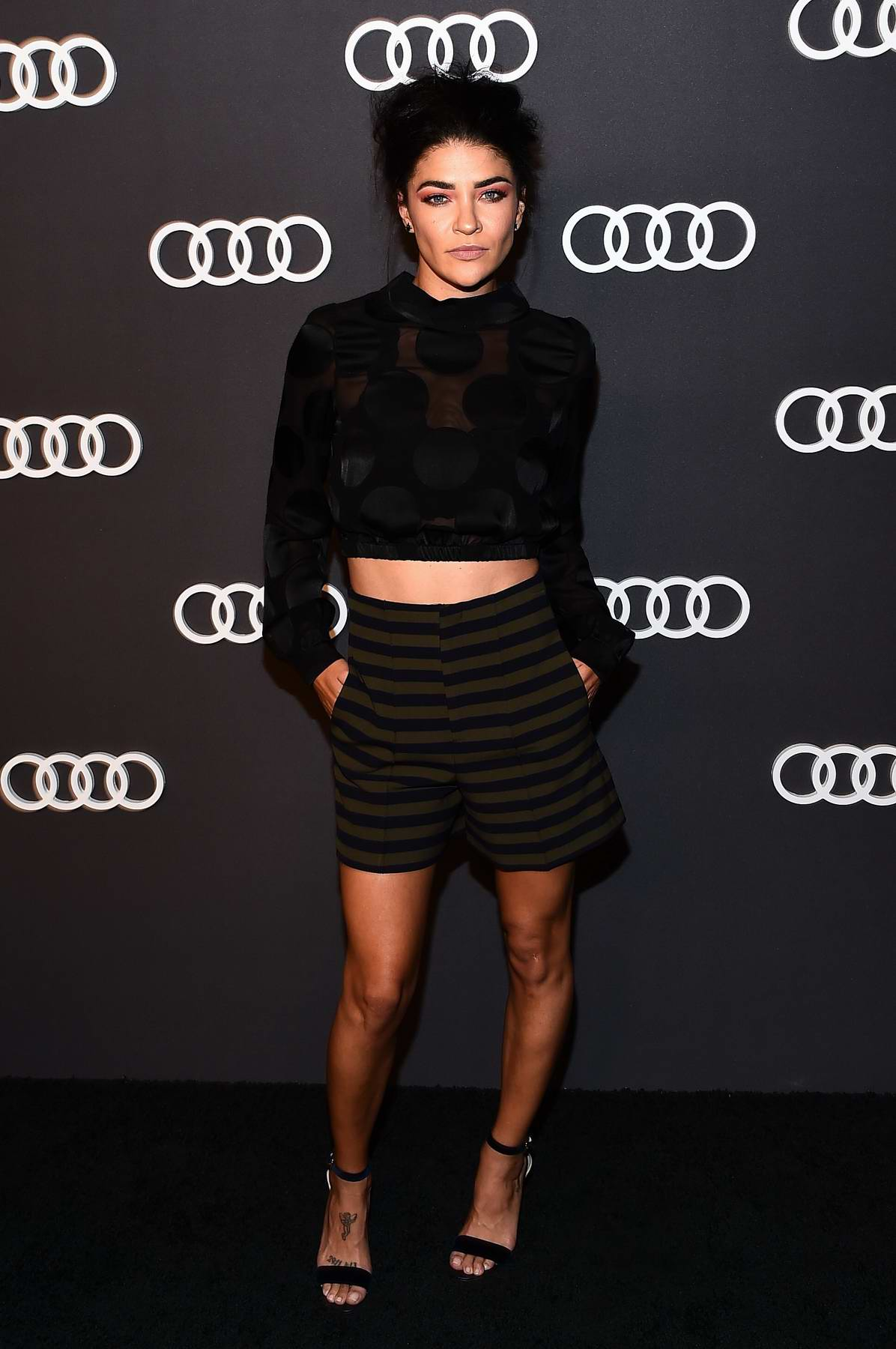 Jessica Szohr at Audi EMMY party in Los Angeles